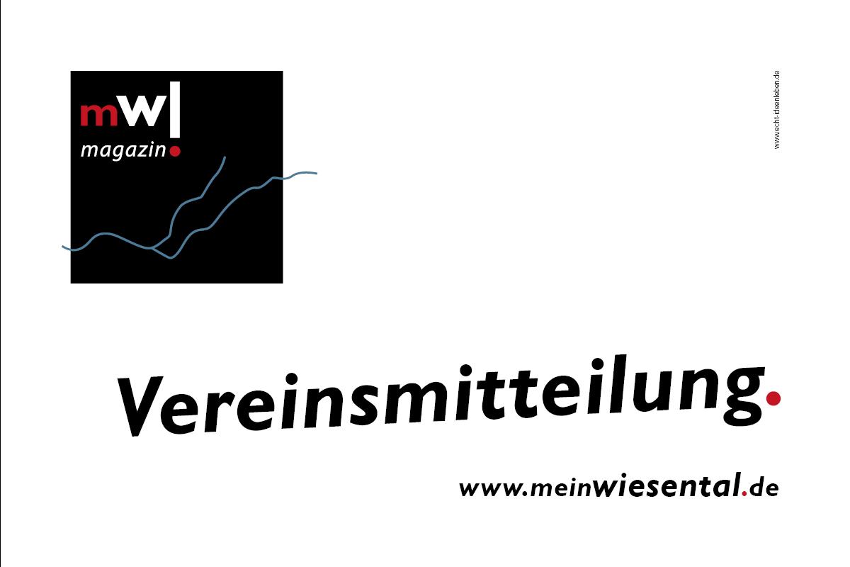 Vereinsmitteilung - meinWiesental.de
