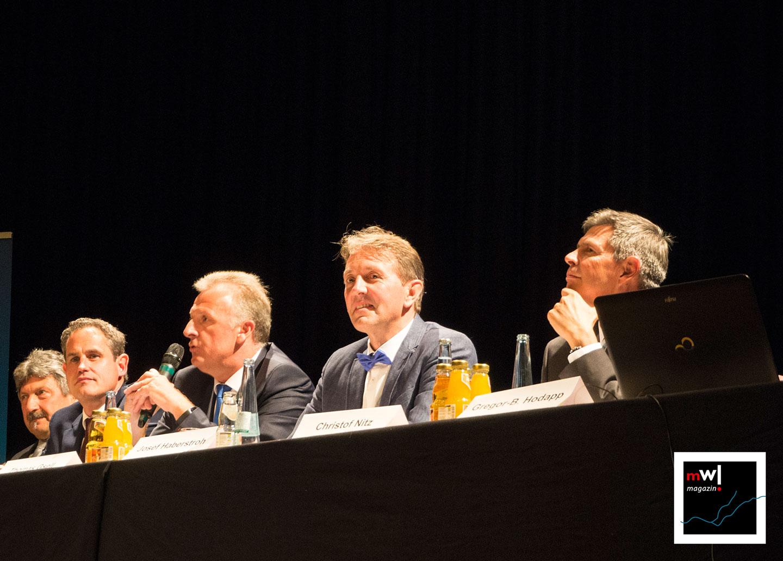 Offizielle Kandidatenvorstellung der Bürgermeisterkandidaten in Schopfheim