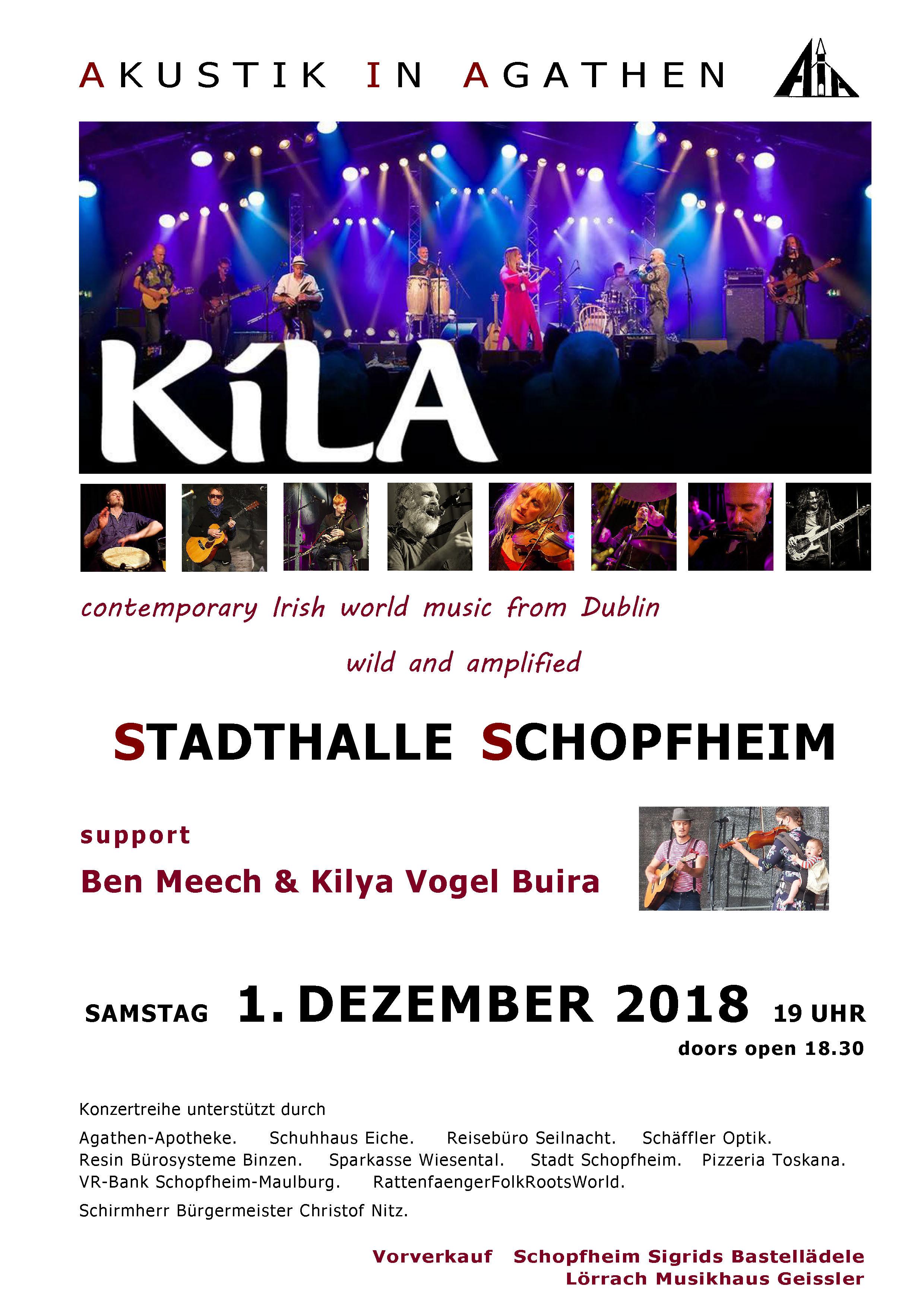 Akustik in Agathen - KILA - Amplified in Schopfheim