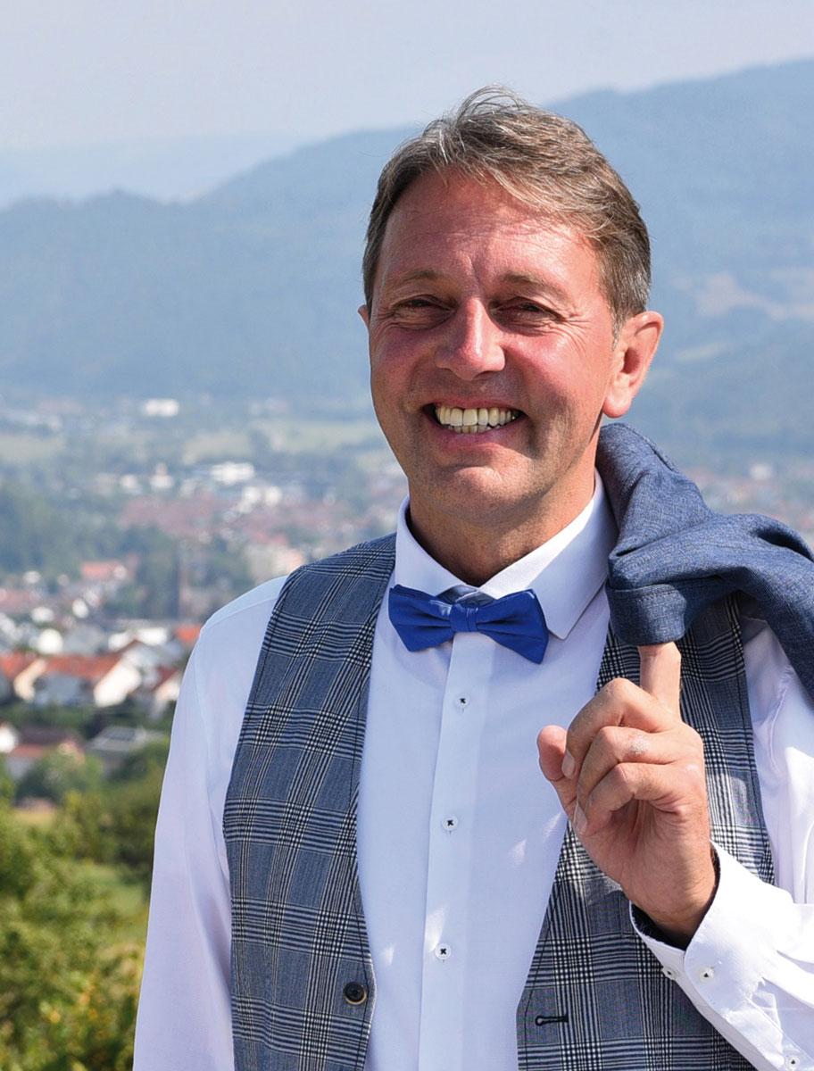 Bürgermeisterkandidat Josef Haberstroh