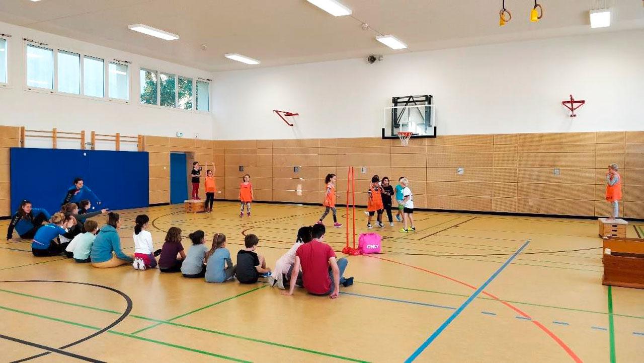 Handball Grundschulaktionstag an den Schopfheimer Grundschulen - meinWiesental.de