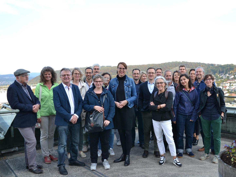 Kollegialer Austausch: Hochbauamt der Stadt Basel zu Besuch in Lörrach - meinWiesental.de / Kommunales
