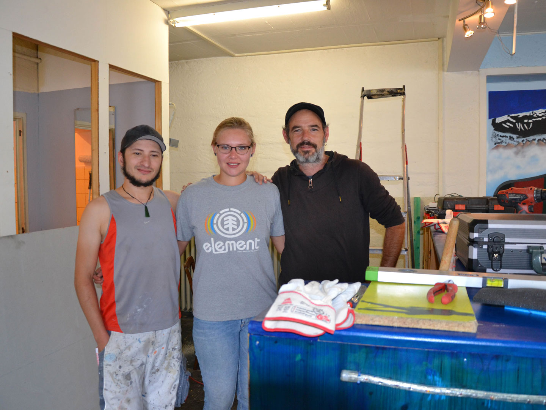 Offener Jugendtreff Haagen renoviert – Stadt unterstützt - meinWiesental.de