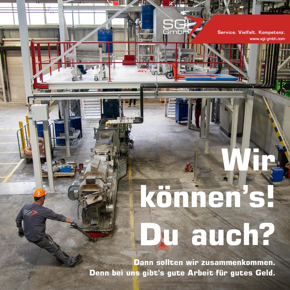 Wir können´s! Du auch? / SGI GmbH Maulburg - Stellenangebote auf meinWiesental.de