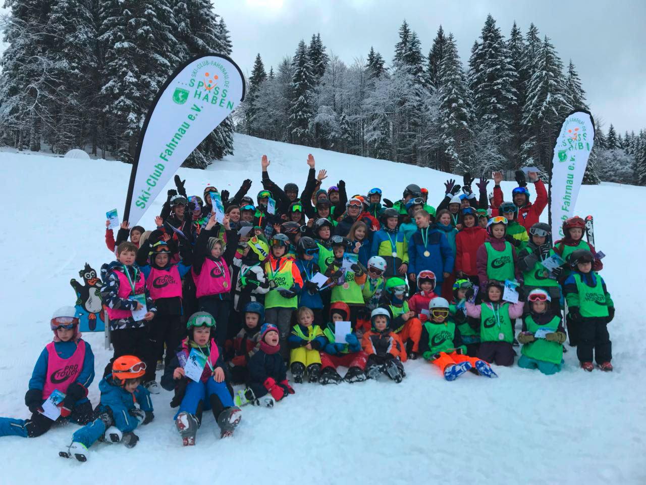 Ski-Club-Fahrnau mit vielseitigem Winterprogramm - meinWiesental.de