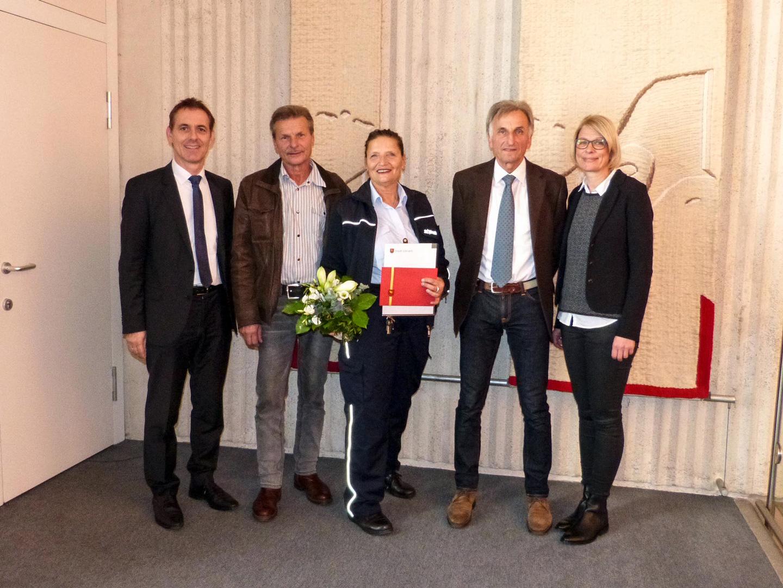 Verabschiedung bei der Stadtverwaltung Lörrach - meinWiesental / Kommunales
