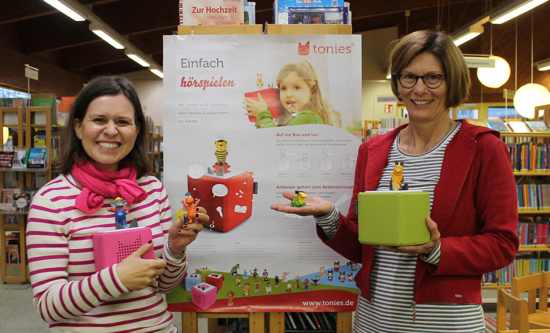 Neues Angebot in der Stadtbibliothek: Tonies und Tonieboxen - meinWiesental.de / Kommunales