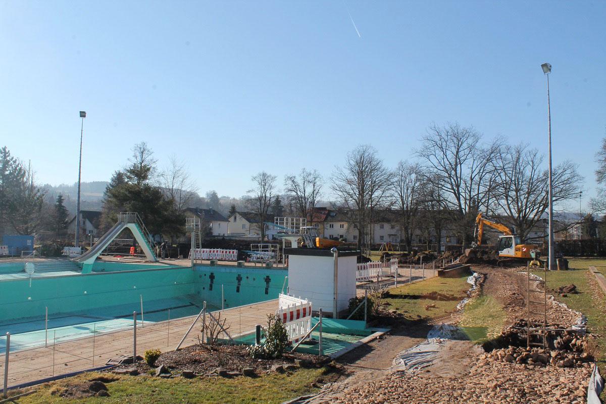 Sanierung Schwimmbad im Zeitplan - meinWiesental / Kommunales